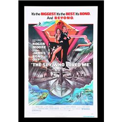 THE SPY WHO LOVED ME (1977) - US One-Sheet Poster, 1977