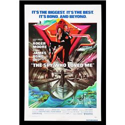 "THE SPY WHO LOVED ME (1977) - US One-Sheet ""Blue Text"" Poster, 1977"