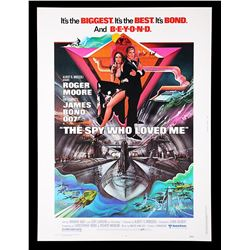 THE SPY WHO LOVED ME (1977) - US 30x40 Poster, 1977