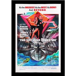THE SPY WHO LOVED ME (1977) - US 40x60 Poster, 1977