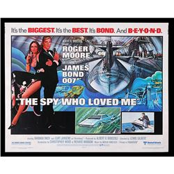 THE SPY WHO LOVED ME (1977) AND MOONRAKER (1979) - US Half-Sheet Poster and Promo Poster, 1977-79