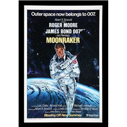 "MOONRAKER (1979) - US One-Sheet ""Style-A"" ""Blasting Off Next Summer"" Advance Poster, 1978"