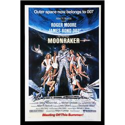 "MOONRAKER (1979) - US One-Sheet ""Blasting Off This Summer"" Advance Poster, 1979"