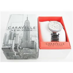 NEW - Caravelle New York Ladies Fancy Swarovski El