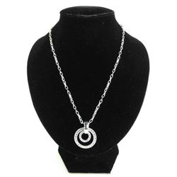 MM Crystal - Designer Double Circle of Life Neckla