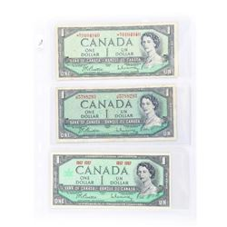 Estate Lot (3) Bank of Canada 1.00