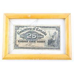 Estate Dominion of Canada 25 Cents 1900 - Boville