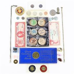 Estate Bag Lot Coins - Misc