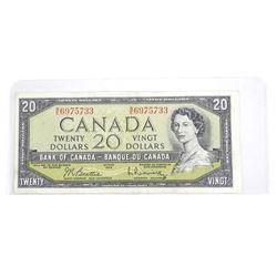 1954 Bank of Canada Twenty Dollar Note
