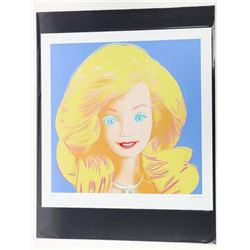 "Andy Warhol - 18x22"" Image 'BARBIE'"