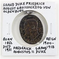 Grand Duke Friedrich (1852-1931) Reign 1900-1918 O