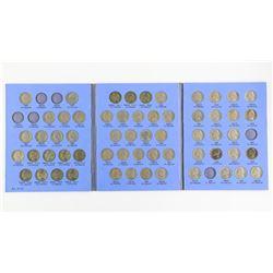 Estate Jefferson Nickel Collection Blue Book
