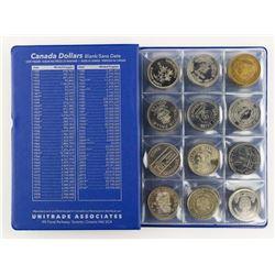 Estate Book 48 Canada Trade Dollars