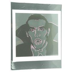 "Andy Warhol - 18x22"" Image 'Dracula'"