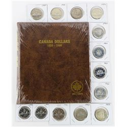 Estate Canada Silver Dollar Collection (13) Coins