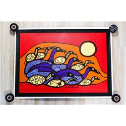 """Norval Morrisseau (1931-2007) Giclee Canvas 24x30"""""""