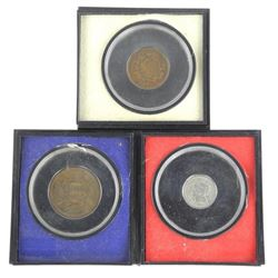 Lot (3) USA Coins 1871-1867-1853.
