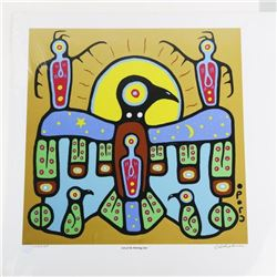Christian Morrisseau (1969-) Giclee 'Son of the Mo