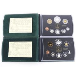 Group (2) RCM Silver Proof Coin Sets: 2000 and 200