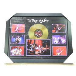 Tragically Hip - Gold Record Collage Collector Fra