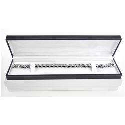 Gents 18/10 Stainless Steel Heavy Link Bracelet
