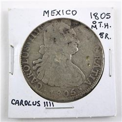 Estate Mexico 1804 M.T.H. 8R Carolus III