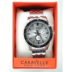 Caravelle 'NY' Gents Sport Watch with Swarovski El