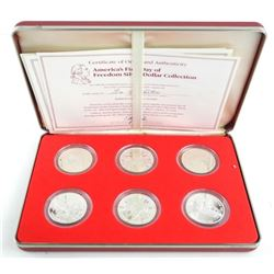 George Washington 6pc Proof Coin Set with C.O.A.
