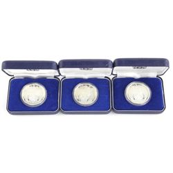 Lot (3) Silver Coins New Zealand