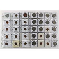 Estate Lot (4) Pages (80) Coins: Australia, Canada