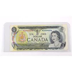 Bank of Canada 1973 $1. MZ, L/B.