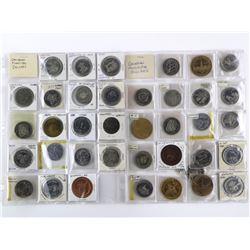 Estate Lot (38) Canada Trade Dollars