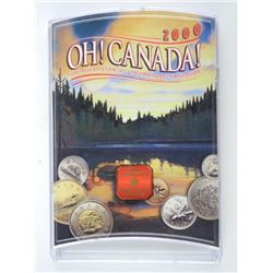 2000 OH Canada UNC Coin Set