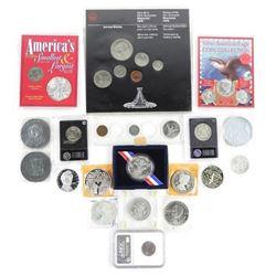 Estate Lot - Mixed Coins, Mint Sets, US-Canada etc