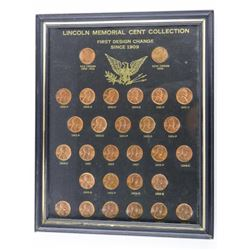Lincoln Memorial Cent Collection First Design Chan