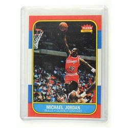 Michael Jordan 'Rookie' Reprint Card