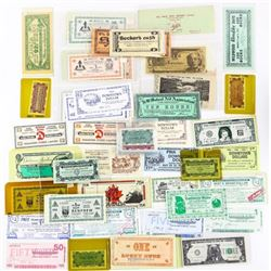 Estate Approx. 108pc Notes, Etc.