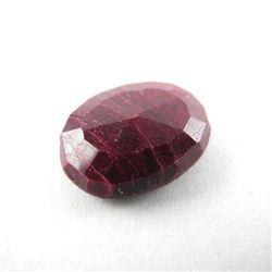 Loose Gemstone 12.29ct Oval Cut Ruby TRRV: $3700.0