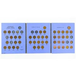 Canada Small Cent Collection Blue Book