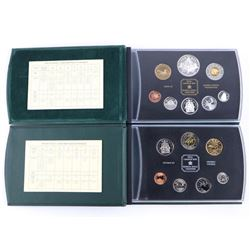 Lot (2) RCM 2000 Specimen and Proof Sets