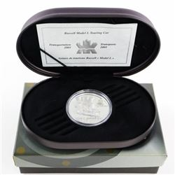 925 Silver $20.00 Proof Coin 'Touring Car'