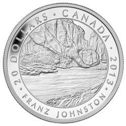 2013 $20 Fine Silver Coin - Franz Johnson, Group of Seven.