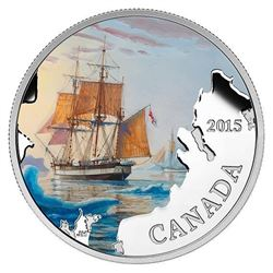 RCM Issue: Fine Silver Lost Ships in Canadian Waters, Franklin's Last Expedition Coin - Sold Out.