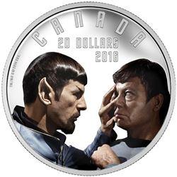 Mirror, Mirror 2016 $20 Fine Silver Coin - Star Trek. Sold Out.