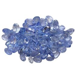 13.57 ctw Oval Mixed Tanzanite Parcel