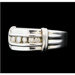 0.50 ctw Diamond Ring - 10KT White Gold