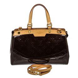 Louis Vuitton Amarante Vernis Leather Brea PM Bag