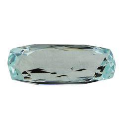 6.09 ct.Natural Cushion Cut Aquamarine