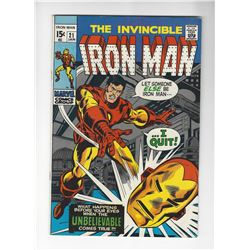 The Invincible Iron Man Issue #21 by Marvel Comics