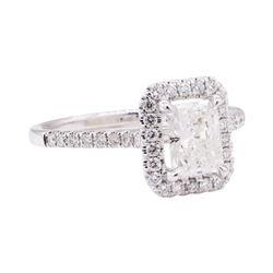 1.60 ctw Diamond Ring - 18KT White Gold